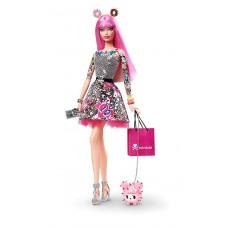 Коллекционная Кукла Барби Токидоки юбилейная с домашним животным 2015 года - BARBIE 10TH ANNIVERSARY TOKIDOKI