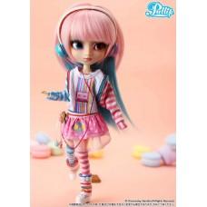 Кукла Коллекционная шарнирная Пуллип  Акеми в модных наушниках, с аксессуарами и подставкой, 31 см - Pullip Akemi