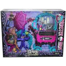 Монстер хай кафе Скариж - Monster High Scaris - City of Frights Cafe Cart