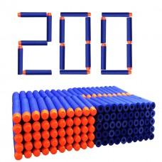 Игровой Набор из 200 мягких стрел (20 комплектов по 10 штук) для игрушечного оружия Нерф - Nerf N-Strike Elite