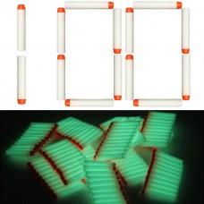 Игровой Набор из 100 светящихся стрел с мягкими наконечниками, для игрушечного оружия Нерф - Nerf N-Strike Elite