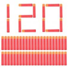 Игровой Набор из 120 мягких стрел (20 комплектов по 6 штук) для игрушечного оружия Нерф Мега - Nerf Mega