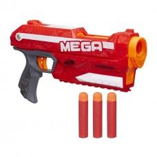 Игровой Пистолет Нерф: Бластер Магнус с 3 мягкими усиленными пулями - Magnus Blaster, Mega Nerf, Hasbro