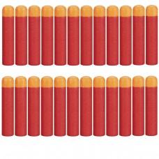 Набор из 24 стрел с мягкими наконечниками (4 комплекта по 6 штук) для игрушечного оружия Нерф Мега - Nerf Mega