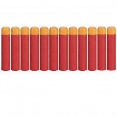 Набор из 12 стрел с мягкими наконечниками (2 комплекта по 6 штук) для игрушечного оружия Нерф Мега - Nerf Mega