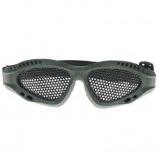 Зеленые детские защитные очки от механических повреждений- Green children's safety goggles