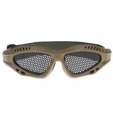 Коричневые детские защитные очки от механических повреждений - Brown children's safety goggles