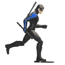 Игровая фигурка Найтвинг с аксессуарами из игры Аркхэм Сити, высота 17 см - Nightwing, Arkham City DC Comics