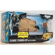 Бэйн + Камо Тумблер из кф Бэтмен: Возрождение Легенды - Bane + Camo tumbler, Mattel