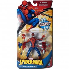 Фигурка Человек-Паук cо съемным костюмом и маской 12СМ - Spider-man, Launching Missile, Hasbro