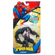 Игровая Фигурка суперзлодея Веном из фильма Человек-паук высота 18см, для детей от 4 лет - Venom, Marvel, Hasbro
