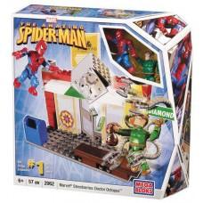 Игровой Конструктор Человек-паук и доктор Осьминог 57 деталей, фигурки - Spider-Man and Doc Ock Marvel MegaBloks