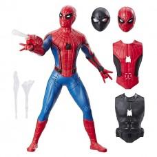 Большая игровая фигурка Человек-Паук с аксессуарами, 35 см, Делюкс со звуком - Spider-Man Web Gear Hasbro Deluxe