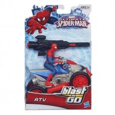 Игровой набор Человек-паук и квадроцикл с пусковым механизмом - Spider-Man ATV, Blast & Go, Hasbro