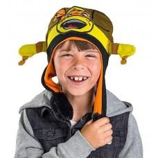 Детская Интерактивная Шапка Флиппс с Черепашкой ниндзя Микеланджело - Flipeez Action Hat, TMNT, Nickelodion