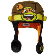Детская интерактивная Шапочка Флиппс Черепашка Микеланджело - Flipeez Action Hat TMNT Michelangelo