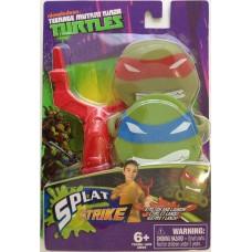 Игровой Набор для мальчиков Рогатка и снаряды-липучки Леонардо и Рафаэль Splat Strike, TMNT, Playmates Toys