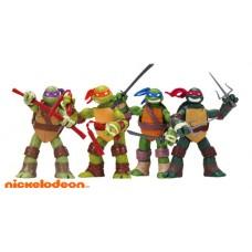 "Набор фигурок 4шт мс ""Черепашки Ниндзя"" TMNT2012/Nickelodeon/13CM"