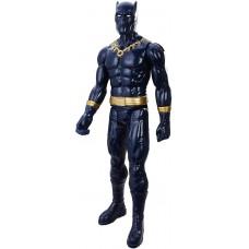 Игрушка-фигурка Черная Пантера Марвел с подвижными частями тела, высота 30 см - Black Panther, Marvel, Hasbro