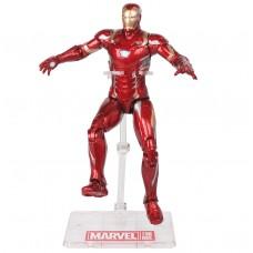 Игровая Фигурка Железный Человек Марк 46 на подставке, высота 18 см - Iron Man Mark 46, Avengers Marvel Hasbro
