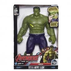 """Интерактивная фигурка Халк серии Титаны из кф """"Мстители"""", 30 см - Hulk, Avengers, Titan Hero Tech, Hasbro"""