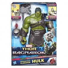 "Интерактивная фигура Халк гладиатор из кф ""Тор: Рагнарок"", 35см - Hulk, Gladiator, Interactive, Hasbro"