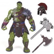 Игровая реалистичная Фигурка Халк-Гладиатор с аксессуарами Тор: Рагнарек, высота 20 см - Hulk, Ragnarok, Marvel*