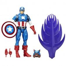 Игровая Фигурка-конструктор Капитан Америка, Легенды Марвел, 15см - Build a Figure, Red Skull Series, Hasbro