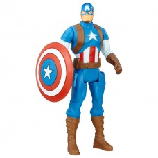 Игровая базовая Фигурка Капитан Америка Мстители, высота 15 см - Captain America, Avengers, Basic, Hasbro