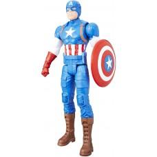 Игровая фигурка Капитан Америка со щитом Титаны Марвел, 30см - Captain America, Marvel, Titan Hero Series Hasbro