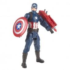 Игровая фигурка Капитан Америка Мстители, Финал, высота 30 см - Titan Hero Power FX, Avengers, Endgame, Hasbro
