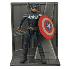 "Фигурка Капитана Америки из кф Первый мститель ""Другая Война"" - Captain America, Marvel Select"