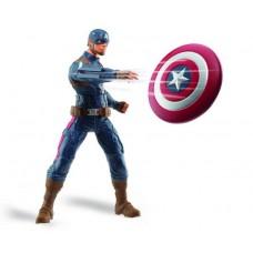 Игровая фигурка Капитан Америка с летающим щитом, говорящая, 25 см - Captain America, The Winter Soldier, Hasbro