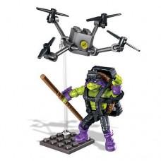 "Конструктор Донателло ""Супер трюки"", 40 дет. - Donatello, Drone Pursuit, TMNT, Mega Bloks Мега Блокс"