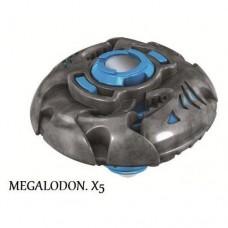 Волчек нападающий Мегалодон команды Хищники - Megalodon, Team Predator, Battle Strikers, Mega Bloks Мега Блокс