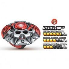 Игровой Волчок нападающий Ребелон команды Паладин с картой - Rebelon, Team Paladin, Battle Strikers, Mega Bloks