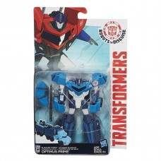 Трансформер Оптимус Прайм - Blizzard Strike Optimus Prime, Robots In Disguise, Warrior Class, Hasbro