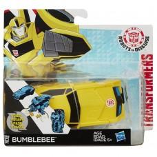 Трансформер Hasbro Бамблби с трансформацией в 1 шаг- Bumblebee, RID, 1-Step