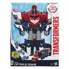 """Игрушка Оптимус Прайм Мега трансформация в 3 шага, 28 см, """"Роботы под прикрытием""""- RID, Hasbro"""