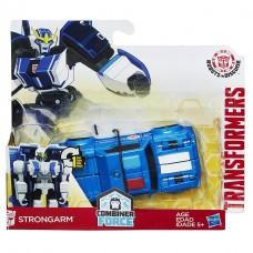 """Трансформер автобот Стронгарм """"Роботы под прикрытием"""" - Strongarm, Autobot, Combiner Force, RID 1-step, Hasbro"""