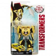 Игровой Автобот Трансформер Бамблби класс Воины, Роботы под прикрытием 14 см - Bumblebee, Warriors, RID, Hasbro