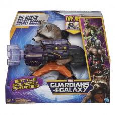 Электронная игрушка Реактивный енот (Ракета) 26СМ, Стражи Галактики - Big Blastin' Rocket Raccoon, Hasbro