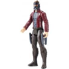 Игровая фигурка Звёздный Лорд со шлемом и бластерами, высота 30 см -Star Lord, Marvel, Titan Hero Series