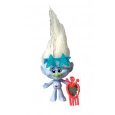 Игровая фигурка Алмазик из мультфильма Тролли с расческой и очками, высота 8 см - Guy Diamond, Trolls, Hasbro