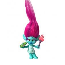 Игровая фигурка Харпер из мультфильма Тролли с кистью и палеткой для красок, высота 8 см - Harper, Trolls Hasbro