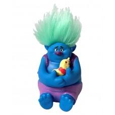 Игровая фигурка Здоровяк из мультфильма Тролли и червячок мистер Динклз, высота 8 см - Biggie, Trolls Hasbro