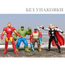 Набор боевых фигурок супергероев 4в1 - Marvel, Avengers, Hasbro