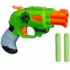 "Пистолет Нерф ""Двойной удар по зомби"" - Double Strike, Zombie Strike, Nerf, Hasbro"