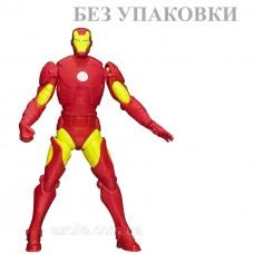 Подвижная фигурка Железный Человек 15СМ - Iron Man, Avengers, Assemble, Squeeze Legs, Hasbro