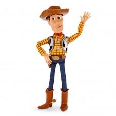 Говорящая Игровая Кукла Шериф Вуди История игрушек, высота 41 см - Pull String Talking Woody, Toy Story, Disney